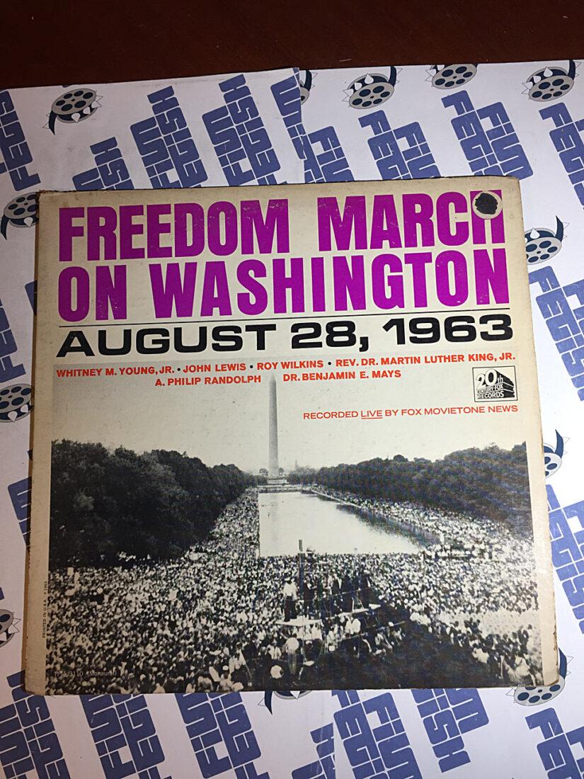 Freedom March On Washington August 28, 1963 LP 1963 20th Century Fox TFM-3110