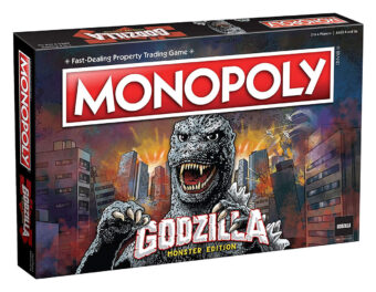 Monopoly: Godzilla Monster Edition Board Game