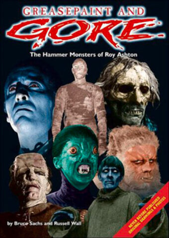 Greasepaint and Gore: The Hammer Monsters of Roy Ashton (1999) Introduction by Peter Cushing