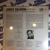 James Baldwin Reading From Giovanni's Room and Another Country Vinyl Edition SEALED CMS517