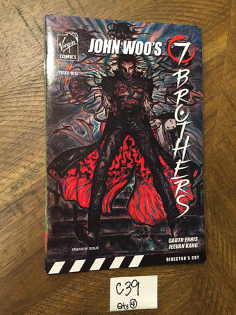 John Woo's 7 Brothers Comic Special Preview Issue and Sketchbook: Director's Cut (October 2006)