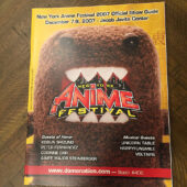 New York Anime Festival Official Program Guide (Dec. 2007) Jacob Javits Center NYC