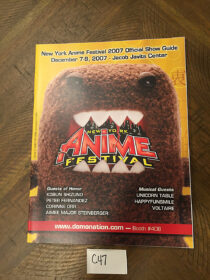 New York Anime Festival Official Program Guide (Dec. 2007) Jacob Javits Center NYC