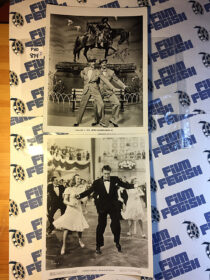 Lot of 5 Original Press Publicity Photos – Fred Astaire, Peter Lawford, June Allyson [PHO874]