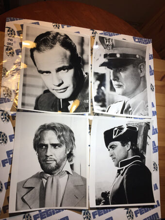 21 Original Press Publicity Photos of Marlon Brando [PHO882]