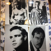 21 Original Press Publicity Photos of Marlon Brando [PHO882]