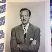 Original MGM Press Publicity Photo of Actor David Niven [PHO892]