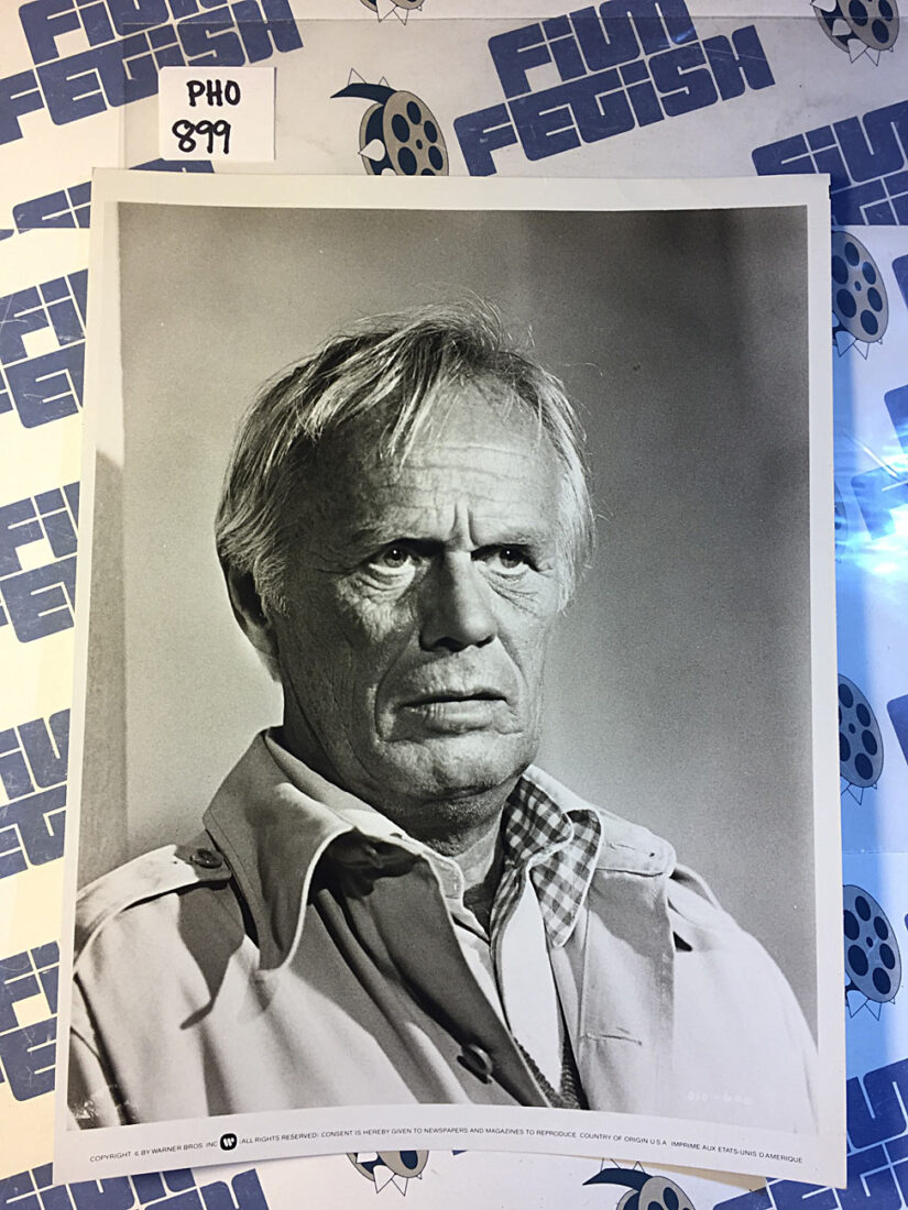 Original Richard Widmark Warner Bros. Press Publicity Photo for The Sell-Out (1976) [PHO899]