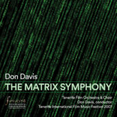Don Davis The Matrix Symphony 20th Anniversary Edition CD (2020)