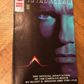 Total Recall DC Comics No. 1 Movie Adaptation (1990) Philip K Dick Schwarzenegger [C68]