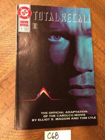 Total Recall DC Comics No. 1 Movie Adaptation (1990) Philip K Dick Schwarzenegger [C68]