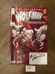The Astounding Wolf-Man Number 1 Signed by Robert Kirkman (2007) [C30]