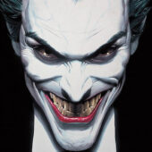 Joker Smiling Portrait 22 x 34 inch Comic Book Poster