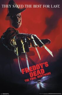 A Nightmare on Elm Street – Freddy's Dead 22 x 34 inch Movie Poster