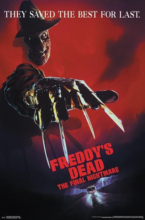 A Nightmare on Elm Street – Freddy's Dead 22 x 34 inch Movie Poster