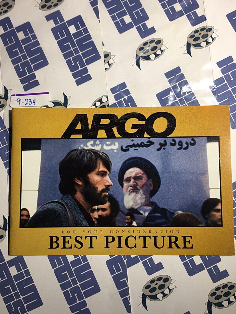 Argo Press Booklet (2012) [9234]