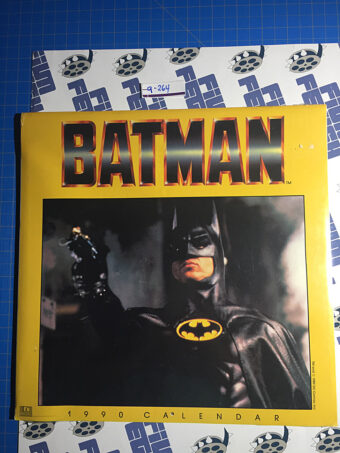 Vintage Batman Movie 1990 Calendar SEALED