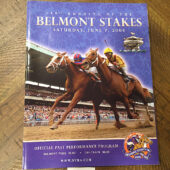 Belmont Stakes 140th Running Official Past Performance Program Guide, June 7, 2008