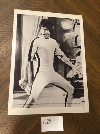 Bruce Lee in Game of Death 8 x 10 inch Original Publicity Photo Jeet Kune Do Club [C22]