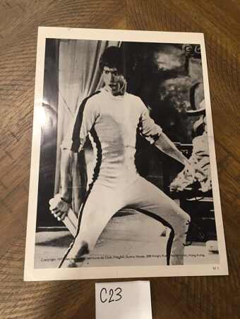 Bruce Lee in Game of Death 8 x 10 inch Original Publicity Photo Jeet Kune Do Club [C23]