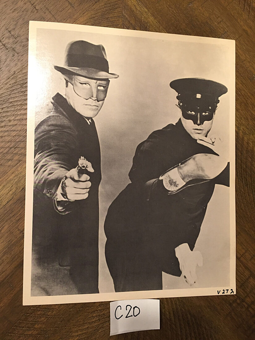 Bruce Lee in The Green Hornet 8 x 10 inch Original Publicity Photo Jeet Kune Do Club [C20]