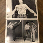 Mystery of Bruce Lee Photo Magazine Jeet Kune Do Fan Club + 9 Publicity Photos (1980) [C32]