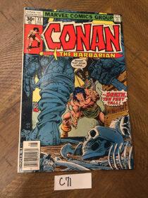 Conan the Barbarian Marvel Comics No. 77 (August 1977) John Buscema [C71]