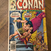 Conan the Barbarian Marvel Comics No. 76 (July 1977) Robert E. Howard [C72]