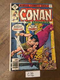 Conan the Barbarian Marvel Comics No. 76 (July 1977) Robert E. Howard [C72]