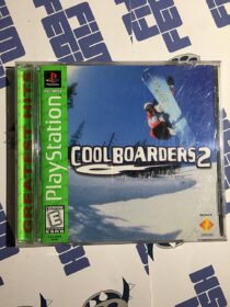 Cool Boarders 2 SONY PlayStation Greatest Hits (1997) with Manual (SCUS-94358)