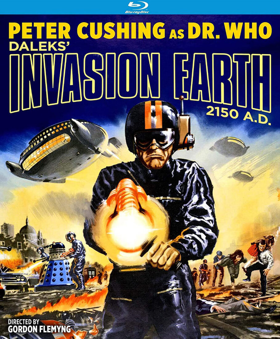 Dr. Who Daleks' Invasion Earth: 2150 A.D. Special Edition Blu-ray (2020)