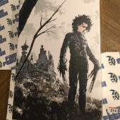 Tim Burton's Edward Scissorhands 12×18 inch Officially Licensed Canvas Print [C02]
