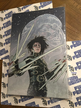 Tim Burton's Edward Scissorhands 12×18 inch Officially Licensed Canvas Print [C04]
