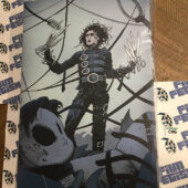 Tim Burton's Edward Scissorhands 12×18 inch Officially Licensed Canvas Print [C06]