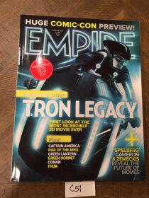 Empire Magazine San Diego Comic Con, Tron: Legacy Preview (August 2010) [C51]