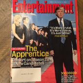 Entertainment Weekly Magazine (September 2004) Donald Trump Cover, The Apprentice [C34]