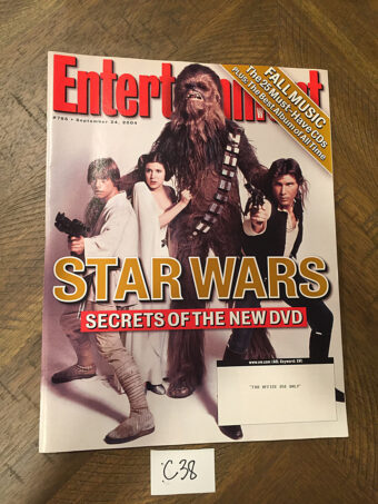 Entertainment Weekly Magazine (Sept 24, 2004) Star Wars [C38]