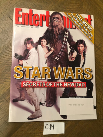 Entertainment Weekly Magazine (Sept 24, 2004) Star Wars, Harrison Ford [C49]