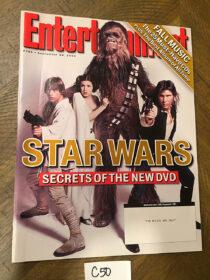 Entertainment Weekly Magazine (Sept 24, 2004) Star Wars, Harrison Ford [C50]