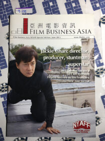 Film Business Asia Magazine New York Asian Film Festival (NYAFF) Special Edition, June 2013 [9232] Jackie Chan Cover