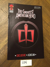 The Greatest American Hero Exclusive Ashcan Preview Comic (July 2008) [C54]