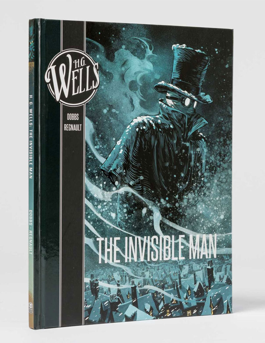 H. G. Wells: The Invisible Man Graphic Novel Hardcover Edition (2018)