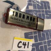 RARE Iron Man Movie Stark Industries Promotional USB Flash Drive (2008) [C41]