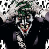 Joker Going Crazy 23 x 35 inch Comics Poster