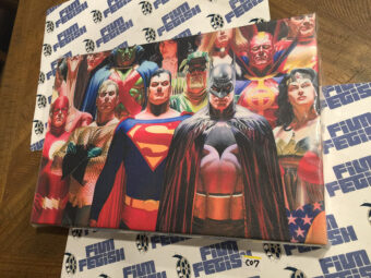 DC Comics Justice League 18 x 12 inch Officially Licensed Canvas Print [C07]