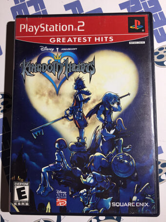 Kingdom Hearts SONY PlayStation 2 Greatest Hits Disney Square Enix with Manual (2002) [SLUS 20370GH]