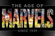 The Age of Marvels – 80th Anniversary Marvel Comics Universe Celebration 22 x 34 Inch Poster