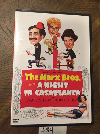 The Marx Bros. Spend A Night in Casablanca DVD (2004) J84