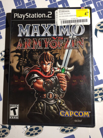 SEALED Maximo vs. Army of Zin PlayStation 2 Capcom (PS2, 2004)