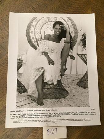 Moon Over Parador Original Press Photo [B27] Sonia Braga